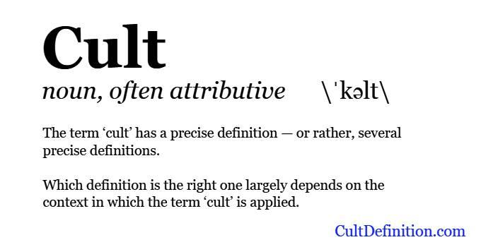 Cult Definition